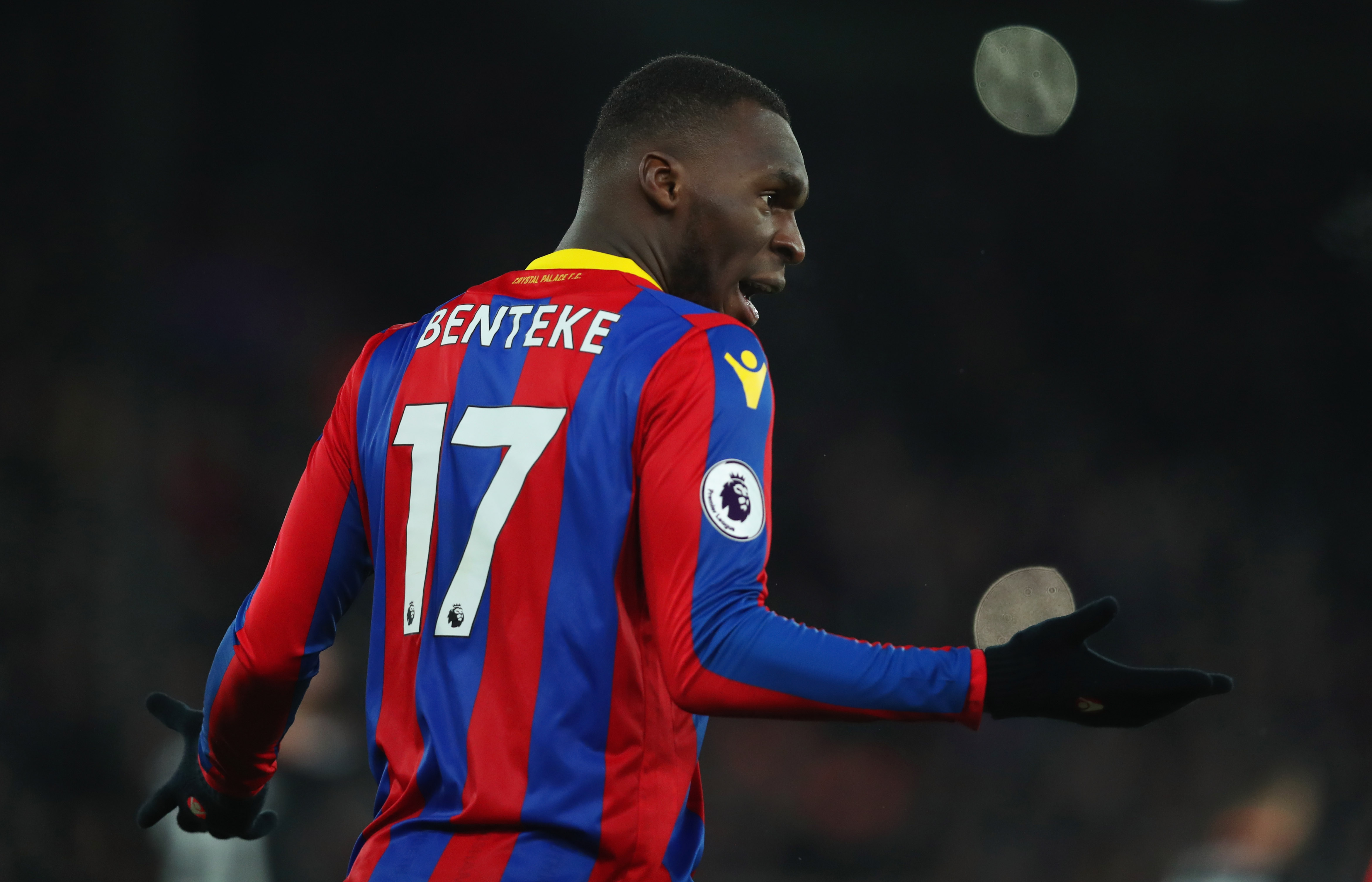 Christian Benteke suspended for the game against his former club (Photo by Dan Istitene/Getty Images)