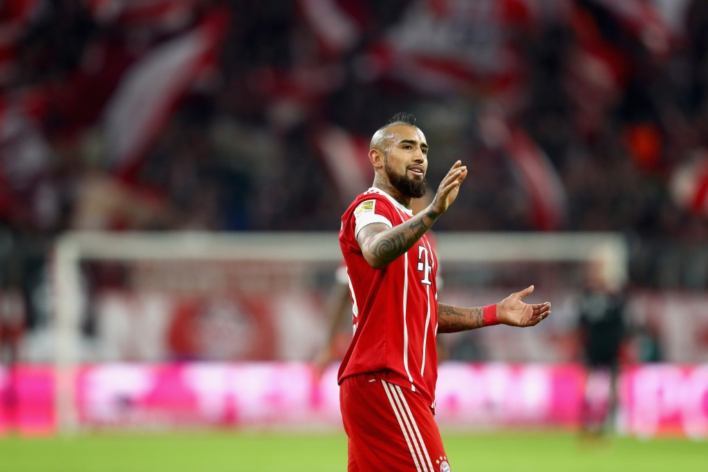 Will Vidal wear the red of Liverpool next season, or will Chelsea come through? (Photo courtesy - Alexander Hassenstein/Bongarts/Getty Images)