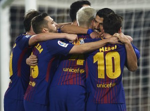 Barcelona Player Ratings vs Real Betis: Messi and Suarez at the double as Barcelona thrash Betis 5-0