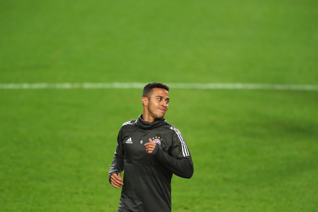 Will Thiago reunite with Pep Guardiola once again? (Photo courtesy - Dean Mouhtaropoulos/Getty Images)
