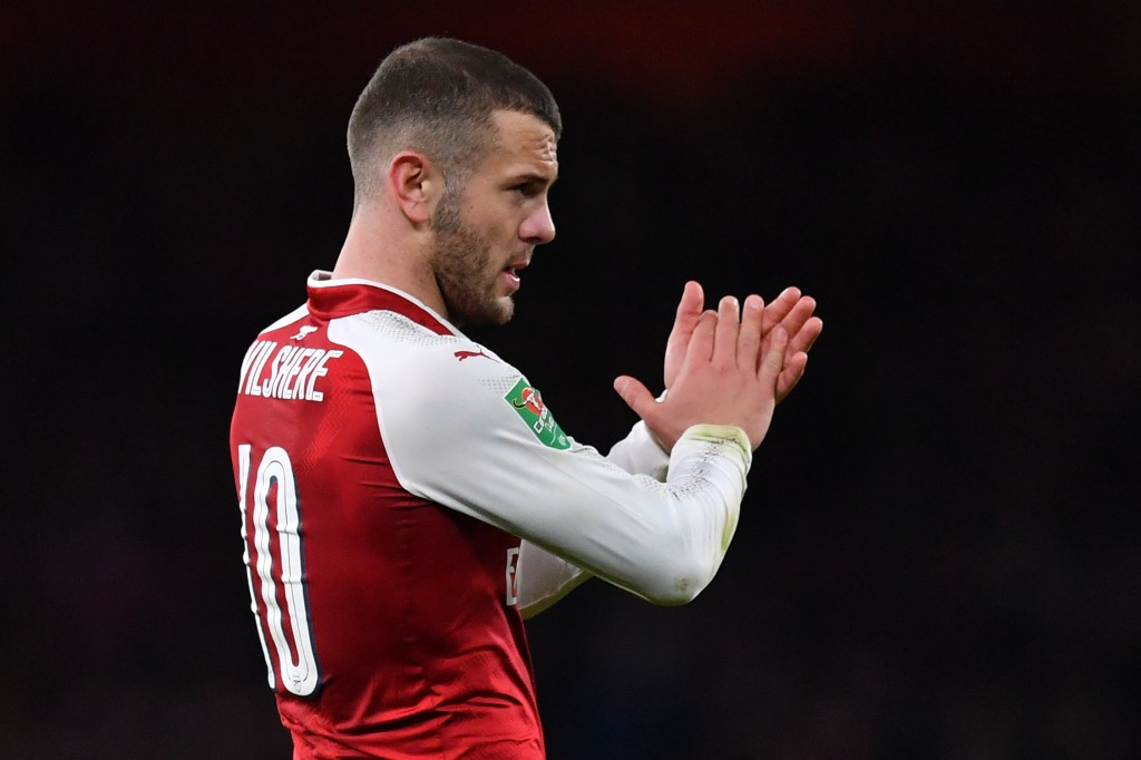 Will he? Won't he? Wilshere's contract situation still unclear (Picture Courtesy - AFP/Getty Images)