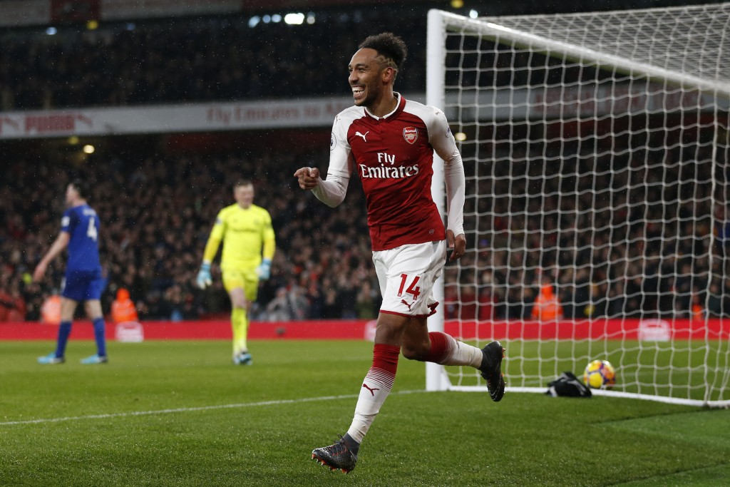 Aubameyang will be a huge threat (Photo: IAN KINGTON/AFP/Getty Images)