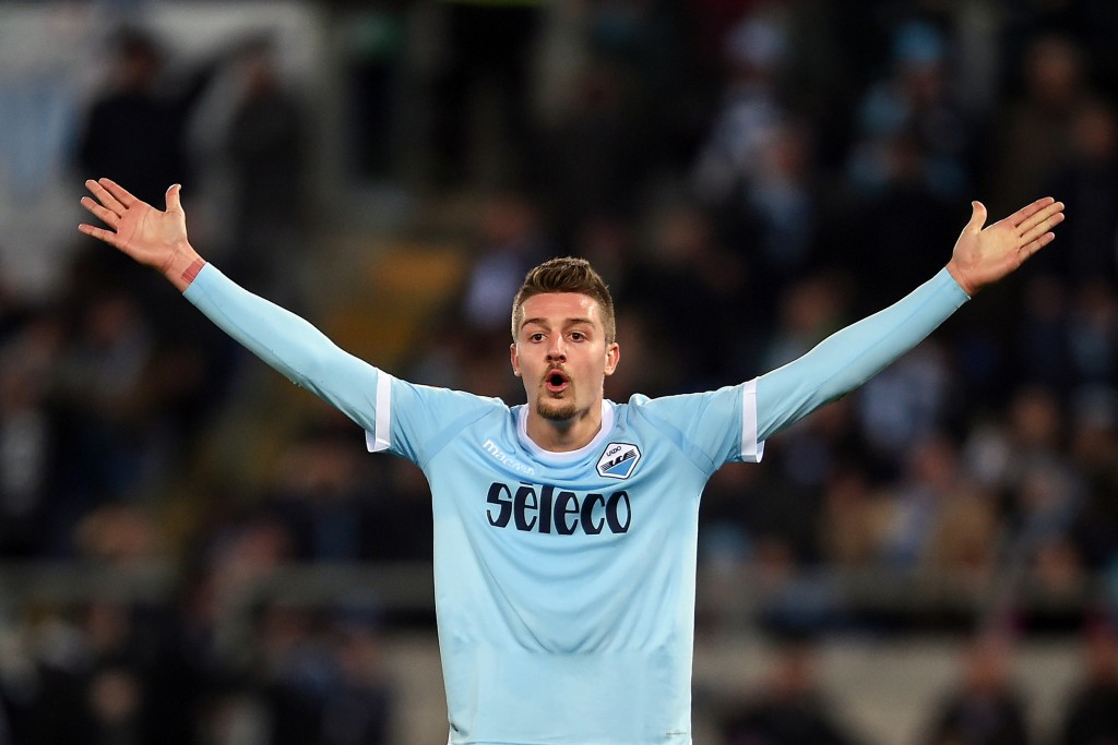 Lazio director Tare calms talk of Milinkovic-Savic exit