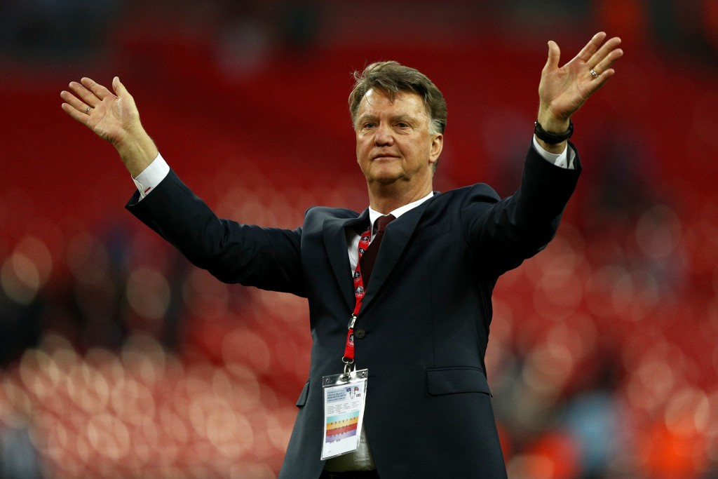 Given his marching orders after winning the FA Cup, Van Gaal could be set for a return to the Premier League. (Picture Courtesy - AFP/Getty Images)