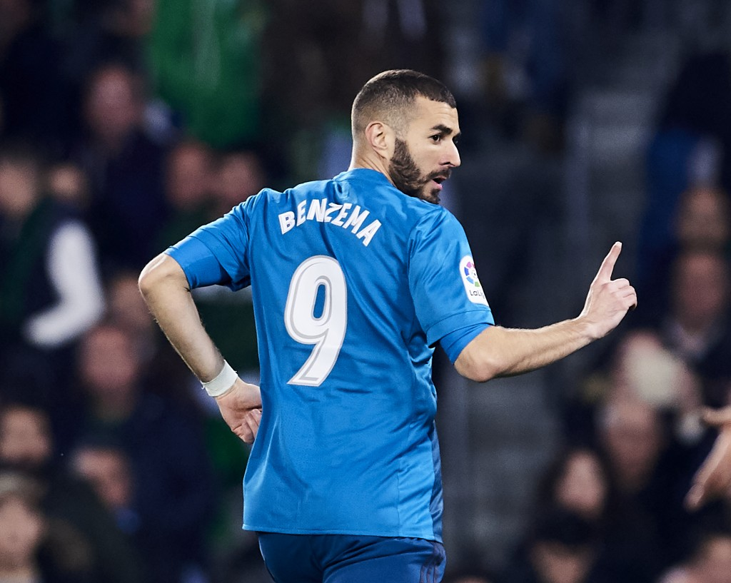Still the number one striker at Real Madrid? (Photo courtesy - Aitor Alcalde/Getty Images)