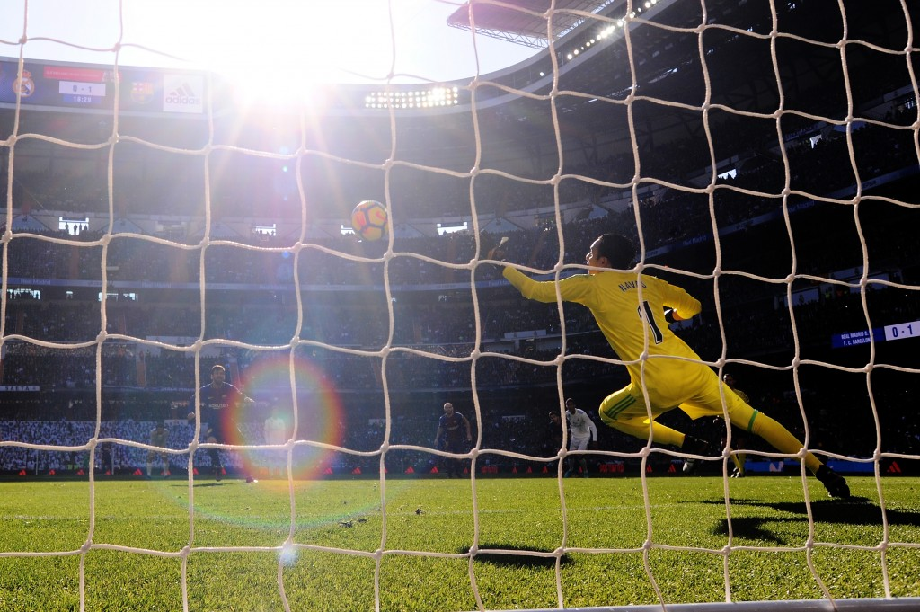 From one hallowed ground to another. Will it be Anfield for Keylor Navas? (Photo courtesy - Denis Doyle/Getty Images)