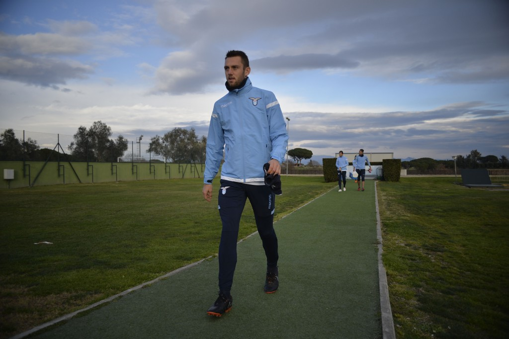 Set to walk away from Lazio at the end of the season. (Picture Courtesy - AFP/Getty Images)