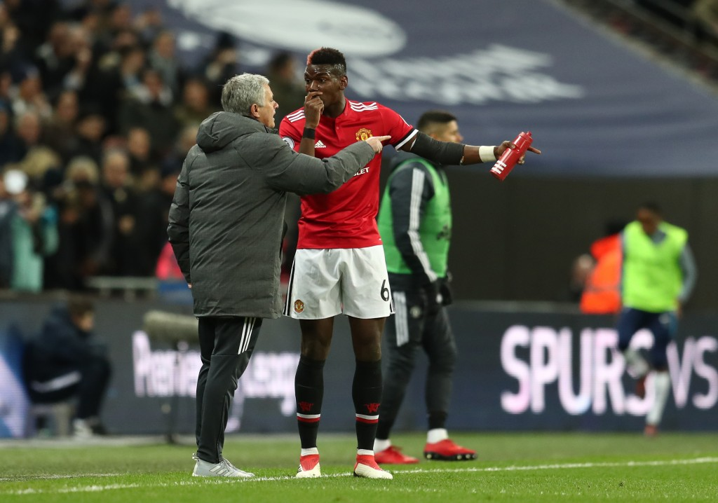 Mourinho has a history of clashing with players. Could the cards typically fall if a similar scenario occurs at Tottenham? (Photo by Catherine Ivill/Getty Images)