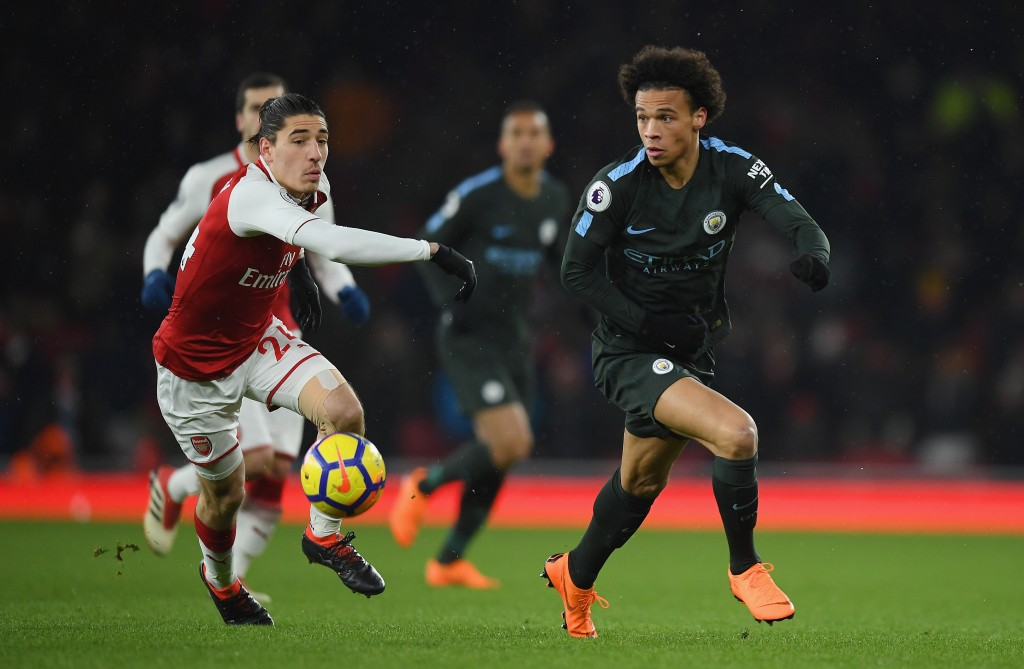 Even City were interested in Bellerin for a while. (Picture Courtesy - AFP/Getty Images)