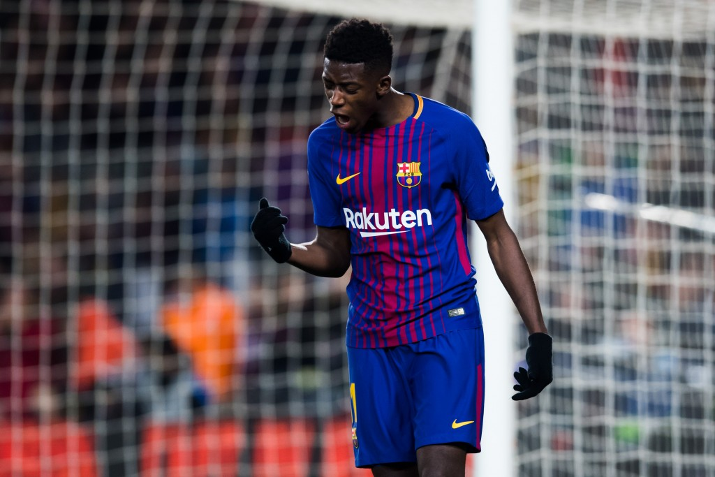 An uncertain future looms for Dembele. (Photo courtesy - Alex Caparros/Getty Images)