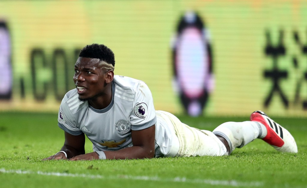 Pogba's struggles continue at Selhurst Park (Photo by Catherine Ivill/Getty Images)