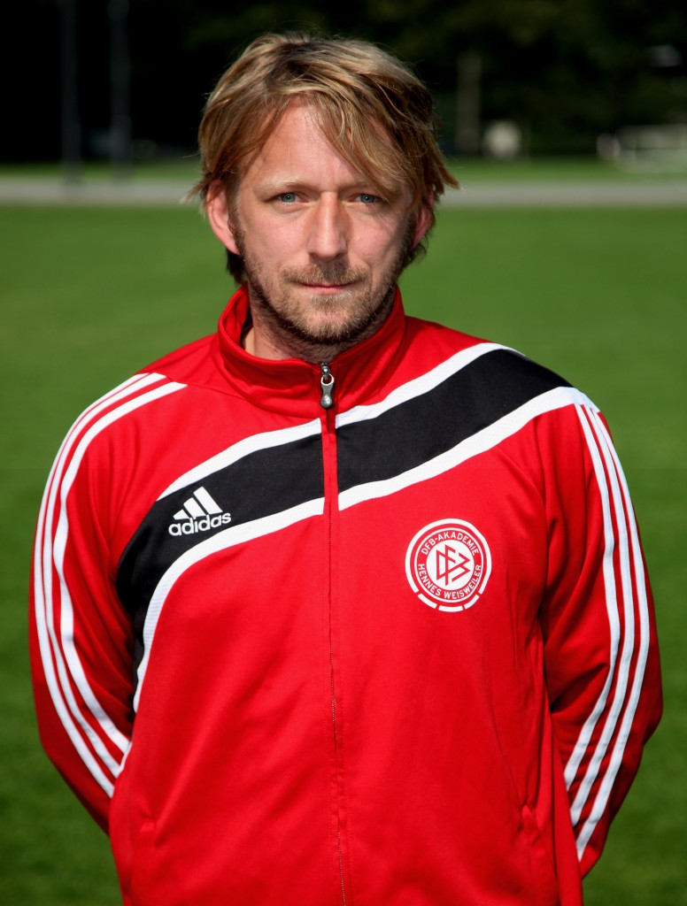 COLOGNE, GERMANY - JUNE 23: Sven Mislintat of the DFB Pro Licence Course 2010/2011 poses during the photocall at the Rheinenergie Stadium on June 23, 2010 in Cologne, Germany. (Photo by Friedemann Vogel/Bongarts/Getty Images)