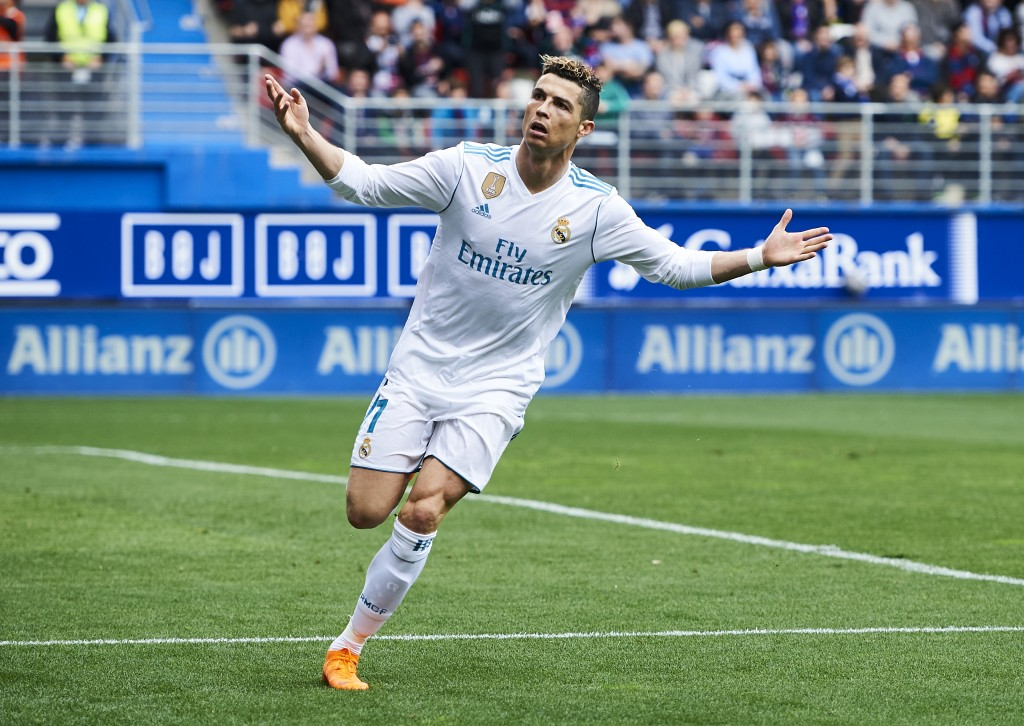 Ronaldo scores four in Real Madrid's 6-3 win over Girona