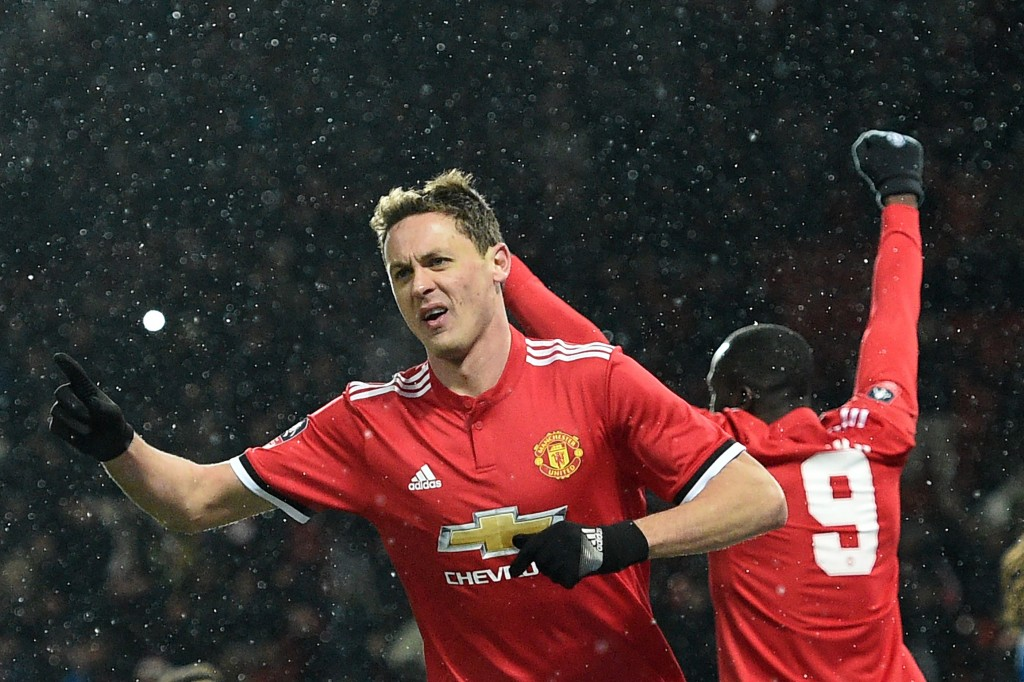 Leading the way for United (OLI SCARFF/AFP/Getty Images)
