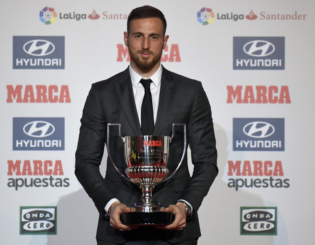 The Zamora award winner could soon be arriving in the Premier League. (Picture Courtesy - AFP/Getty Images)
