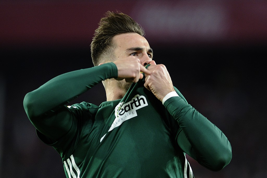 Will Ruiz be the latest academy graduate to leave Real Betis? (Picture Courtesy - AFP/Getty Images)