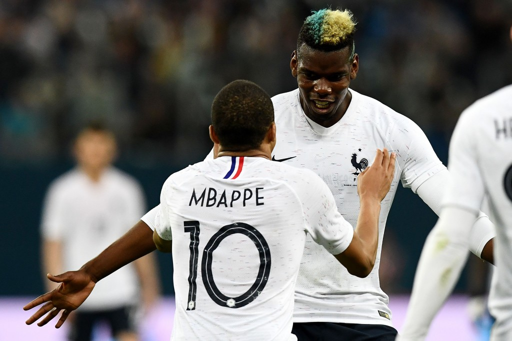 Mbappe and not Pogba is the topmost priority for Real Madrid. (Photo by Franck Fife/AFP/Getty Images)
