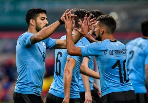 Uruguay 2-0 Czech Republic – Player Ratings: Suarez and Cavani lead La Celeste into China Cup finals