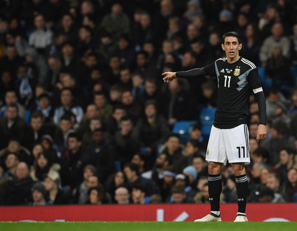 Di Maria was influential for Argentina (Photo by Claudio Villa/Getty Images)