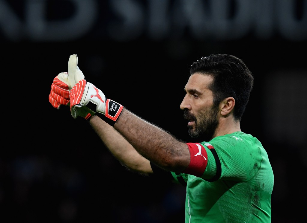Still got it! Buffon was impressive in goal for Italy (Photo by Claudio Villa/Getty Images)