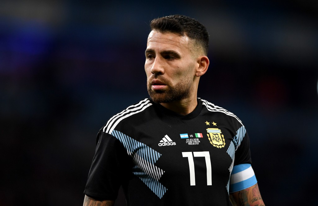 Leading from the front - Nicolas Otamendi (Photo by Gareth Copley/Getty Images)