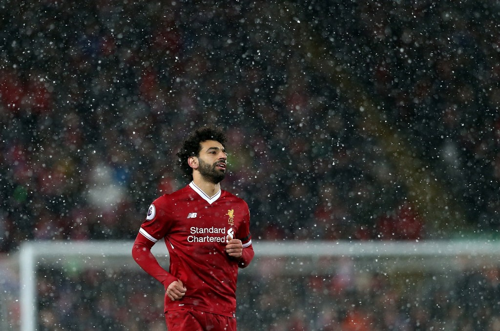 Can he replicate his Liverpool form while donning the Egyptian jersey? (Picture Courtesy - AFP/Getty Images)