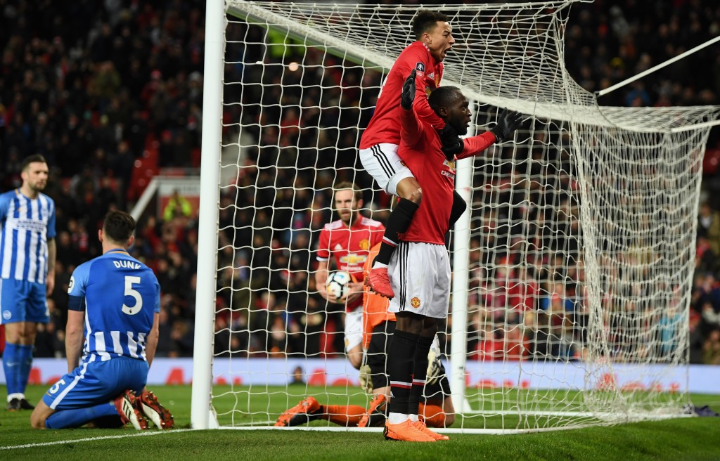 Lukaku was once again on target (Photo by Michael Regan/Getty Images)