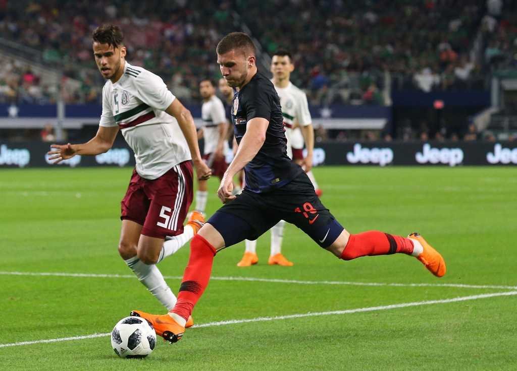 Rebic was a bright spot in attack for Croatia (Photo by Richard Rodriguez/Getty Images)