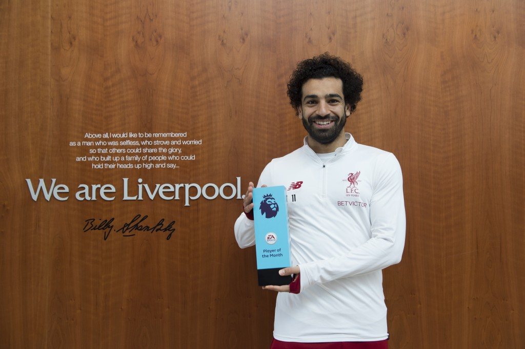 Will Salah don the whites of Real Madrid? Or will Barcelona come through instead? (Photo courtesy - Nathan Stirk/Getty Images for Premier League)