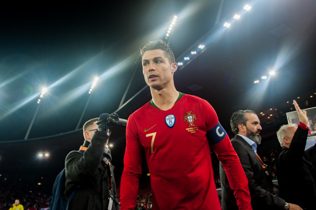 Ronaldo draws blank as Portugal thrashed