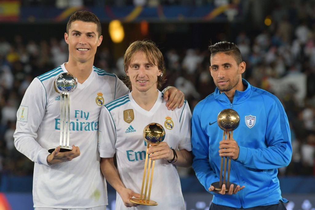 Modric has won it all with Real Madrid. (Picture Courtesy - AFP/Getty Images)