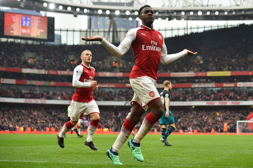 Welbeck was the hero for Arsenal (Photo: GLYN KIRK/AFP/Getty Images)