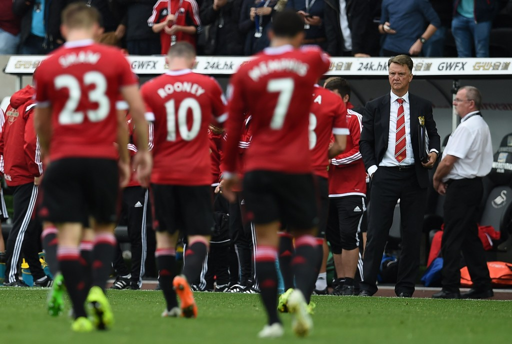 Shaw had done quite a few things right under Van Gaal. (Picture Courtesy - AFP/Getty Images)