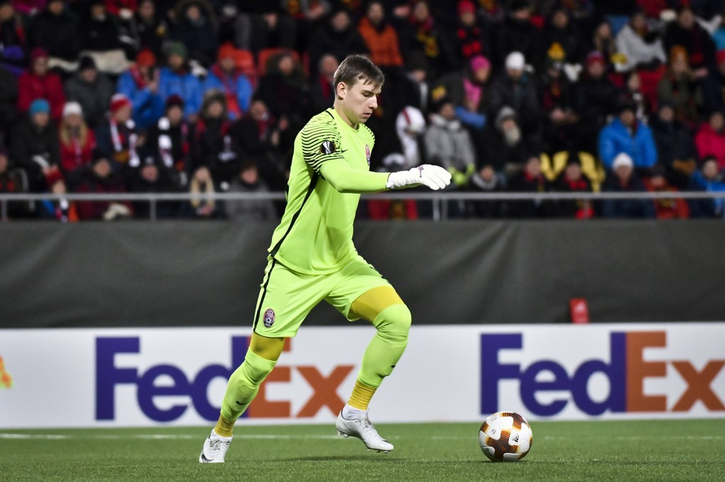 Lunin has been tipped for a bright future (Photo ROBERT HENRIKSSON/AFP/Getty Images)