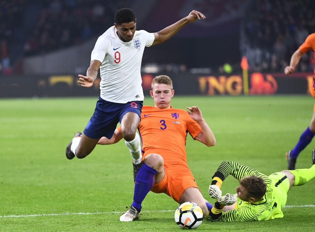 de Ligt seems prepared for the step up in club football. (Picture Courtesy - AFP/Getty Images)