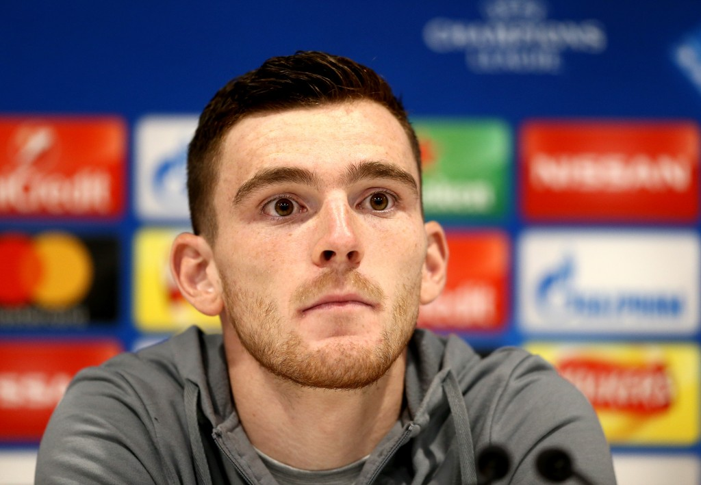 All eyes will be on captain Andrew Robertson when Scotland take the field at Hampden Park. (Photo by Jan Kruger/Getty Images)