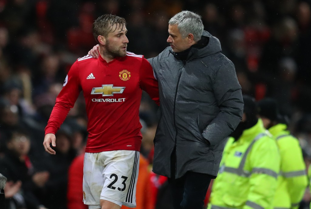 Shaw never passed the Mourinho litmus test. (Picture Courtesy - AFP/Getty Images)