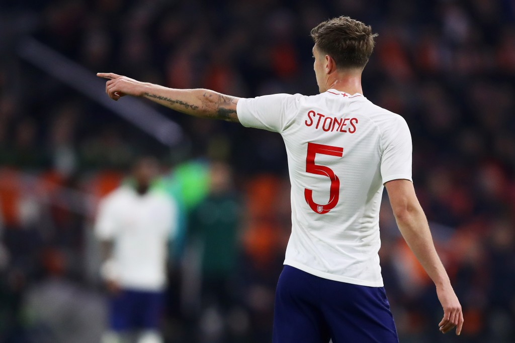 Despite his recent decline in stature at Manchester City, Stones is an English international with valuable experience. (Picture Courtesy - AFP/Getty Images)