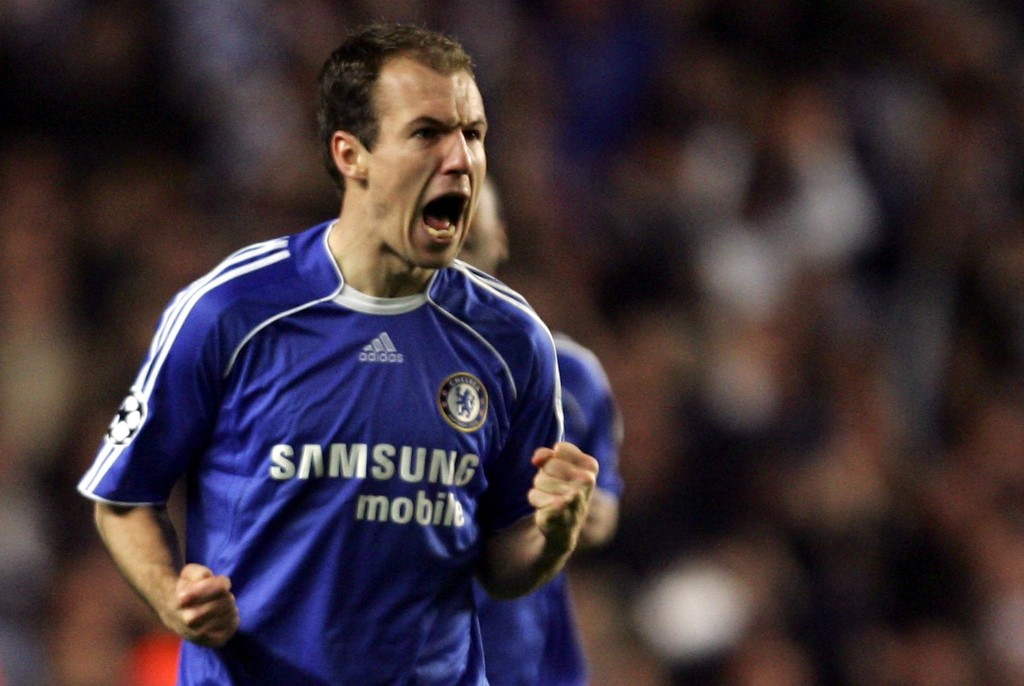 Robben went on to enjoy tremendous success with Chelsea after Manchester United backed out of a deal. (Photo courtesy - Mike Hewitt/Getty Images)