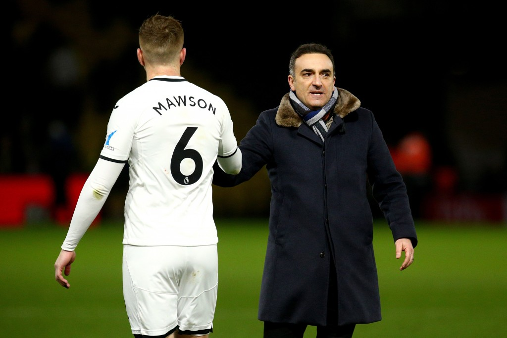 Mawson is continuing to impress under a new manager in Carlos Carvahal, showing the ability to be consistent under different managers. (Picture Courtesy - AFP/Getty Images)