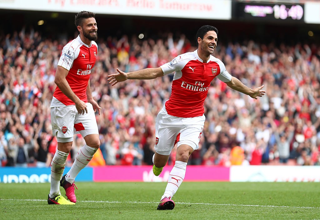 Former Gunners midfielder Mikel Arteta is now a firm favourite to take over as Arsenal's new manager. (Photo courtesy: AFP/Getty)