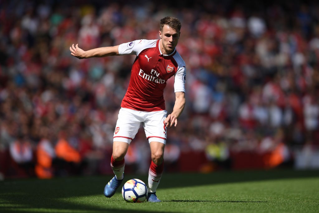 Aaron Ramsey is yet to agree a new deal with Arsenal and could be offloaded if he fails to sign one. (Courtesy: AFP/Getty)