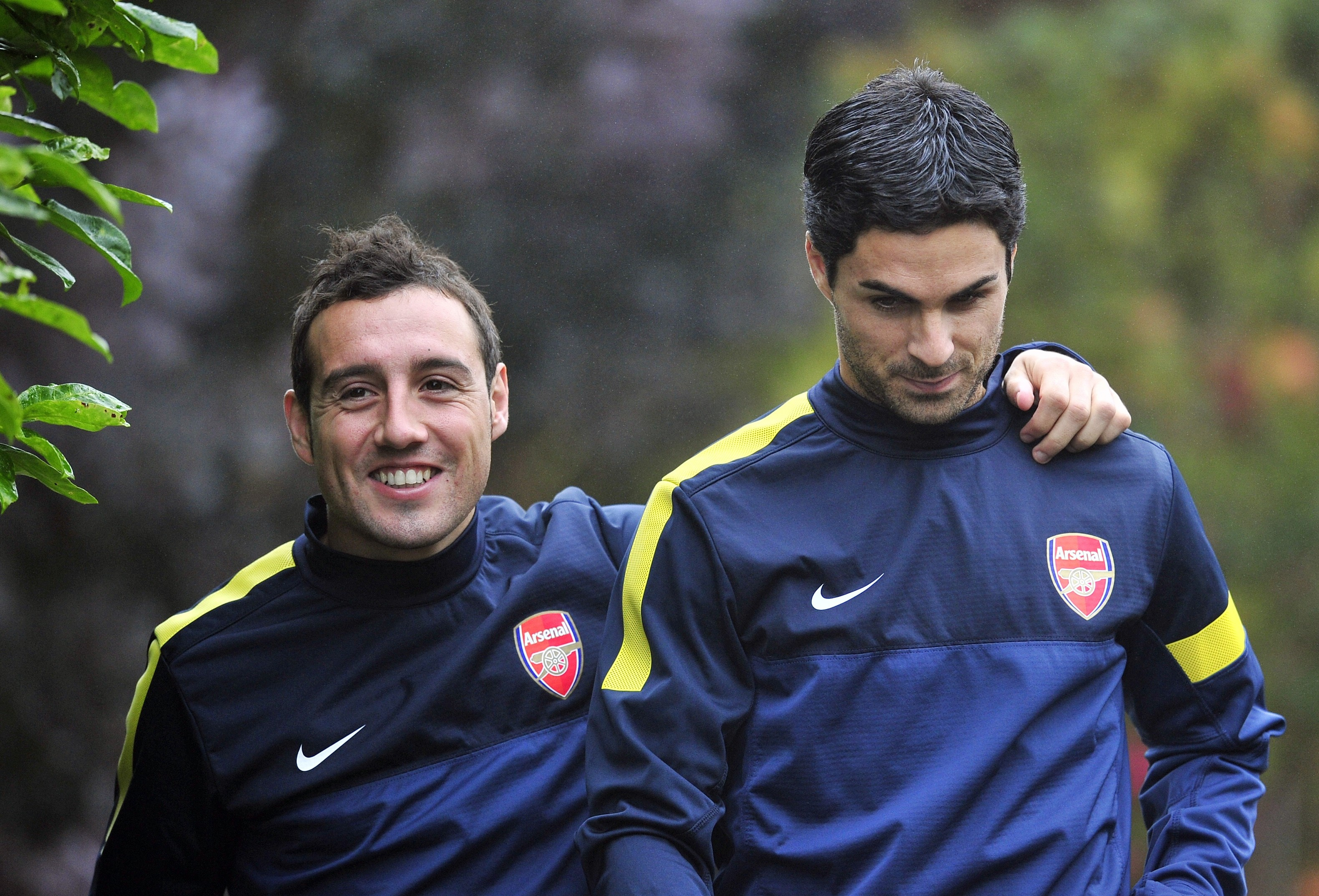 Mikel Arteta reportedly wants Santi Cazorla as part of his staff in a player-coach capacity for next season. (Photo courtesy: AFP/Getty)