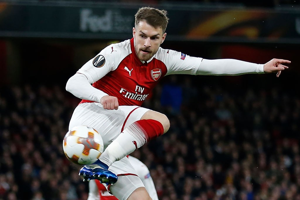 Aaron Ramsey is Arsenal's current longest serving player with the Welshman close to completing a decade with the North London Club. (Photo courtesy: Ian Kington/AFP/Getty)