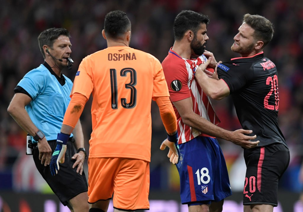 Arsenal lost toventual Europa League champions Atletico Madrid in the Semi-Finals. (Photo courtesy: AFP/Getty)