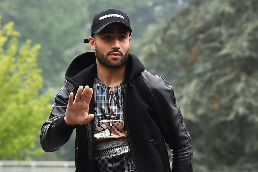 French national football team's forward Nabil Fekir arrives at the team's training camp ahead of the 2018 World Cup, on May 23, 2018 at France's training centre in Clairefontaine-en-Yvelines, outside Paris. (Photo by FRANCK FIFE / AFP) (Photo credit should read FRANCK FIFE/AFP/Getty Images)