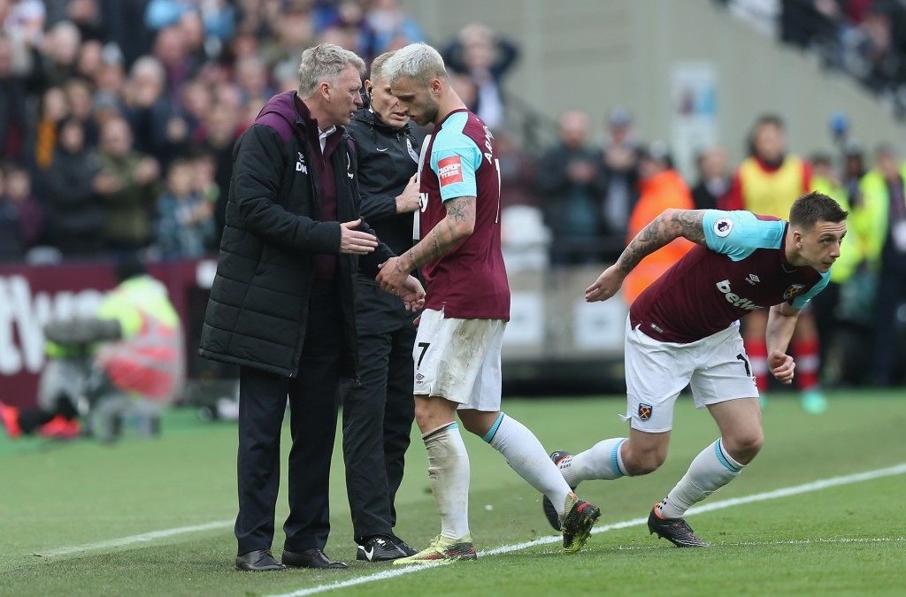 Arnautovic excelled under David Moyes at West Ham United. (Picture Courtesy - AFP/Getty Images)
