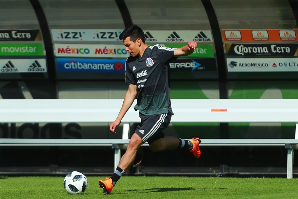 Shooting - just one of the underrated traits Lozano possesses. (Picture Courtesy - AFP/Getty Images)