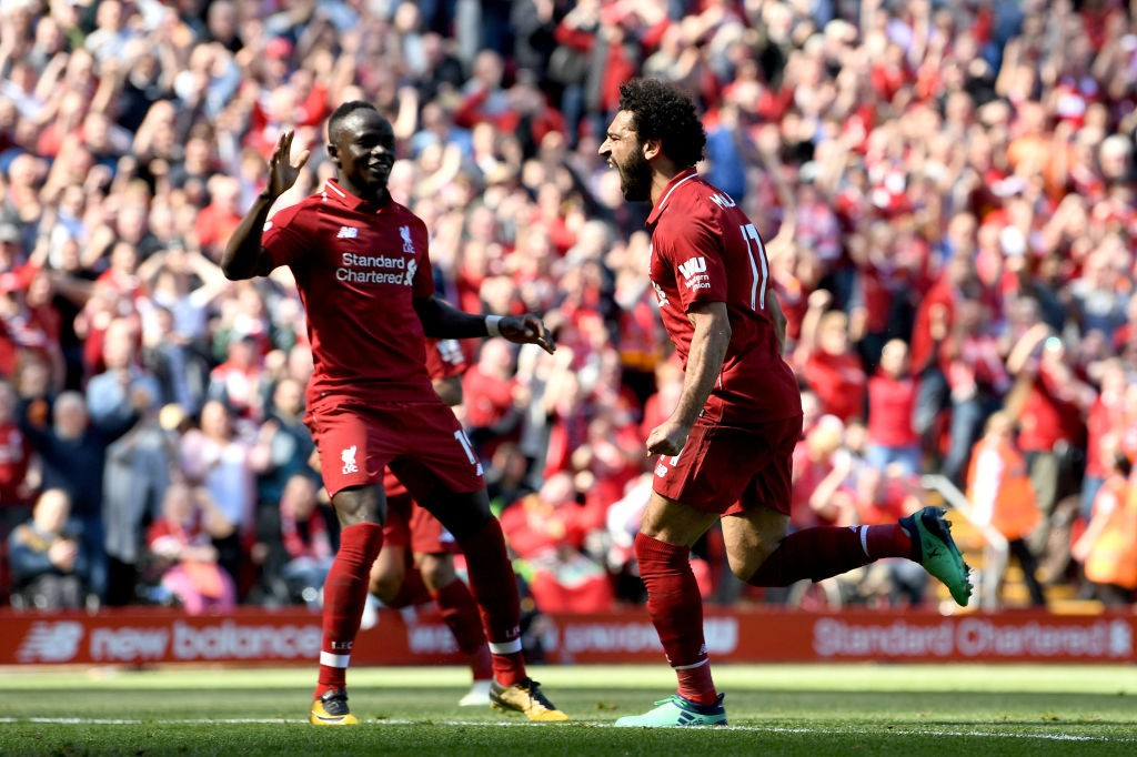 Liverpool will be heavily reliant on their attacking trio of Salah, Mane and Firmino in order to win against Real Madrid in the UCL Final. (Photo courtesy: AFP/Getty)