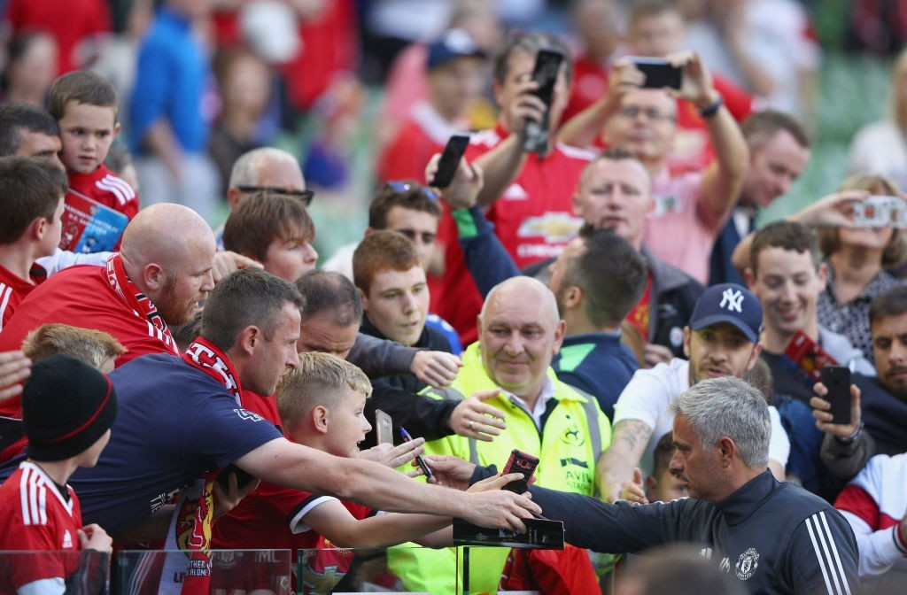 Relationship between Jose and the fans has hit rock bottom (Photo: Ian Walton/Getty Images)